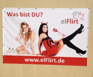 elFlirt startet mit Plakatwerbung